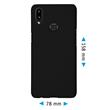 Hardcase Galaxy A10s rubberized black Cover Pic:1