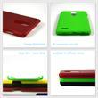 Hardcase K30 rubberized green Case Pic:3