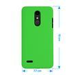 Hardcase K30 rubberized green Case Pic:1