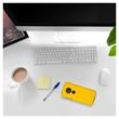 Hardcase Moto G6 Play rubberized yellow Cover Pic:4
