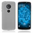 Silicone Case Moto G6 Play matt transparent Case
