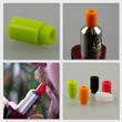PhoneNatic Drip Tip Silicone for 510 Mouthpiece Socket in orange Pic:4