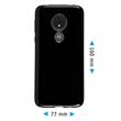 Silicone Case Moto G7 Power  black Cover Pic:1