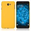 Hardcase Galaxy J7 Prime 2 rubberized yellow Case