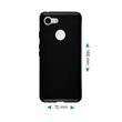 Silicone Case Pixel 3  black Case Pic:1