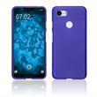 Silikon Hülle Pixel 3 XL matt lila Case