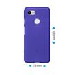 Silicone Case Pixel 3 XL matt purple Case Pic:1