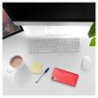 Silicone Case Desire 10 Lifestyle S-Style red + protective foils Pic:4