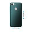 Silicone Case Desire 12 Plus transparent turquoise Case Pic:1