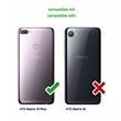 Silicone Case Desire 12 Plus transparent turquoise Case Pic:5