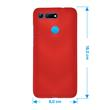 Silicone Case Honor View 20 matt red Cover Pic:1