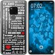 Huawei Mate 20 Silicone Case in Love M5