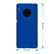 Silicone Case Mate 30 Pro matt blue Cover Pic:1