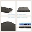 Silikon Hülle P Smart+ matt transparent-weiß Case Pic:3