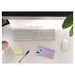 Silikon Hülle P Smart+ matt transparent-weiß Case Pic:4