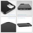 Silicone Case iPhone 12 Pro transparent black Cover Pic:3