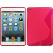 Silicone Case for Apple iPad Mini 3 2 1 S-Style hot pink