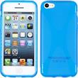 Silicone Case for Apple iPhone 5c X-Style blue