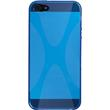 Silicone Case for Apple iPhone 5 / 5s X-Style blue Pic:2