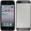 Silicone Case for Apple iPhone 5 / 5s X-Style gray