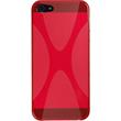 Silicone Case for Apple iPhone 5 / 5s X-Style red Pic:2