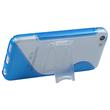 Silicone Case for Apple iPhone 5c stand function blue Pic:4