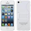 Silicone Case for Apple iPhone 5c stand function transparent