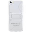 Silicone Case for Apple iPhone 5c stand function transparent Pic:2