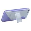 Silicone Case for Apple iPhone 5c stand function purple Pic:4