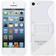 Silicone Case for Apple iPhone 5c stand function white