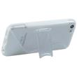 Silicone Case for Apple iPhone 5c stand function white Pic:4
