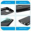 Silikon Hülle Moto G6  schwarz Case Pic:3