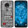Motorola Moto G7 Plus Silicone Case in Love M5