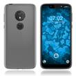 Silicone Case Moto G7 Play transparent Crystal Clear + protective foils
