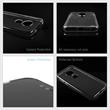 Silicone Case Moto G7 Play transparent Crystal Clear + protective foils Pic:3