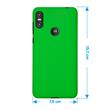 Hardcase One (P30 Play) rubberized green Cover Pic:1