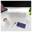 Silicone Case V40 ThinQ matt purple Cover Pic:4