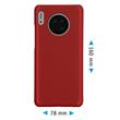 Hardcase Mate 30 rubberized red Cover Pic:1