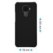 Hardcase Mate 30 Lite rubberized black Cover Pic:1