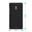 Hardcase Nokia 2.1 rubberized black Cover Pic:1