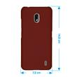 Hardcase Nokia 2.2 rubberized red + protective foils Pic:1