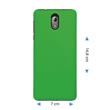 Hardcase Nokia 3.1 rubberized green Cover Pic:1