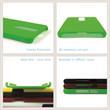Hardcase Nokia 5.1 Plus gummiert schwarz Cover Pic:3