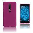 Silikon Hülle Nokia 6.1 (2018) matt pink Case