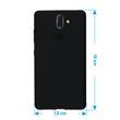 Silicone Case Nokia 8 Sirocco matt black Case Pic:1