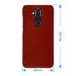 Hardcase Nokia 8.1 (X7) rubberized red Cover Pic:1
