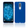 Silicone Case Nokia 3.1 Plus matt blue Cover