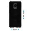 Silicone Case Mi Note 9 Pro crystal-case black Cover Pic:1