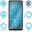 2 x Honor View 20 Protection Film Tempered Glass clear full screen black Pic:1