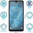 2 x Galaxy A10s Protection Film Tempered Glass clear full screen black Pic:1
